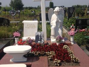 Надгробие №136
