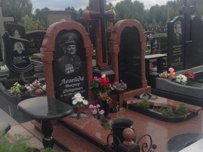 Надгробие №165