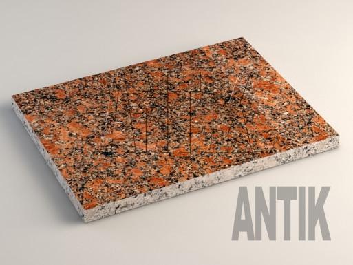 Новоданиловское (Withered) Гранит плита облицовочная 400x300x20