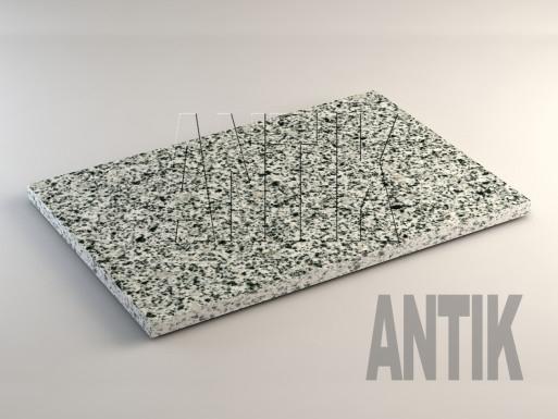 Покостовское (Grey Ukraine) Гранит плита облицовочная 600x400x20