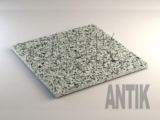 Покостовское (Grey Ukraine) Гранит плита облицовочная 600x600x20