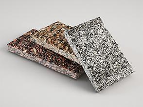 Варианты применения плиты скалы