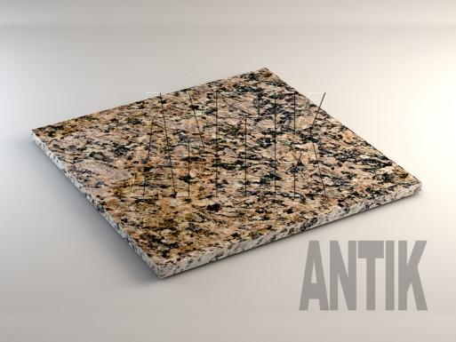 Юрьевское (Dmytrit) Гранит плита облицовочная 600x600x20